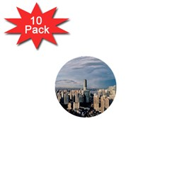 Shanghai The Window Sunny Days City 1  Mini Buttons (10 Pack)  by BangZart