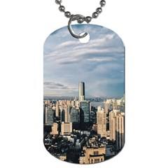 Shanghai The Window Sunny Days City Dog Tag (two Sides)