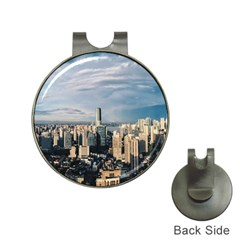 Shanghai The Window Sunny Days City Hat Clips With Golf Markers