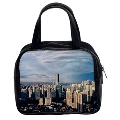 Shanghai The Window Sunny Days City Classic Handbags (2 Sides) by BangZart