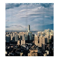 Shanghai The Window Sunny Days City Shower Curtain 66  X 72  (large)  by BangZart