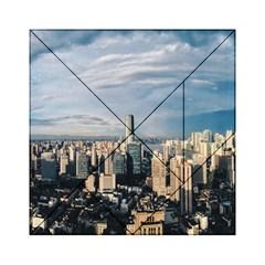 Shanghai The Window Sunny Days City Acrylic Tangram Puzzle (6  X 6 ) by BangZart