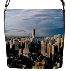 Shanghai The Window Sunny Days City Flap Messenger Bag (s) by BangZart