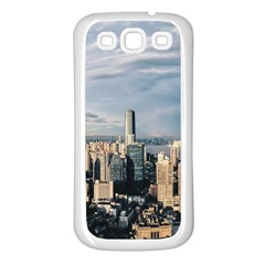 Shanghai The Window Sunny Days City Samsung Galaxy S3 Back Case (white)