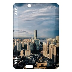 Shanghai The Window Sunny Days City Kindle Fire Hdx Hardshell Case by BangZart