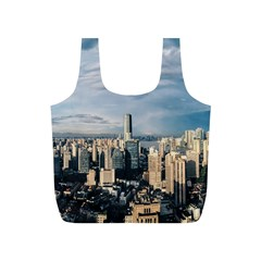 Shanghai The Window Sunny Days City Full Print Recycle Bags (s)  by BangZart