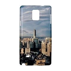 Shanghai The Window Sunny Days City Samsung Galaxy Note 4 Hardshell Case by BangZart