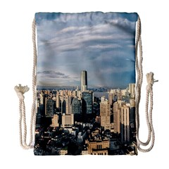 Shanghai The Window Sunny Days City Drawstring Bag (large) by BangZart