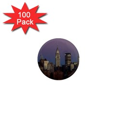 Skyline City Manhattan New York 1  Mini Magnets (100 Pack)  by BangZart