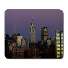 Skyline City Manhattan New York Large Mousepads