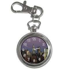 Skyline City Manhattan New York Key Chain Watches