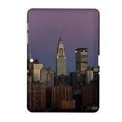 Skyline City Manhattan New York Samsung Galaxy Tab 2 (10 1 ) P5100 Hardshell Case