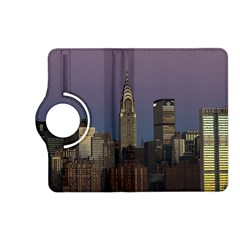 Skyline City Manhattan New York Kindle Fire Hd (2013) Flip 360 Case by BangZart