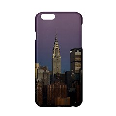Skyline City Manhattan New York Apple Iphone 6/6s Hardshell Case by BangZart