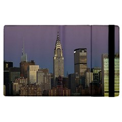 Skyline City Manhattan New York Apple Ipad Pro 9 7   Flip Case by BangZart