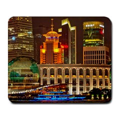 Shanghai Skyline Architecture Large Mousepads