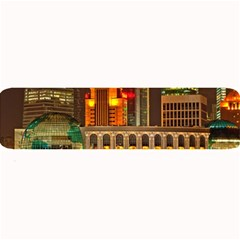 Shanghai Skyline Architecture Large Bar Mats by BangZart