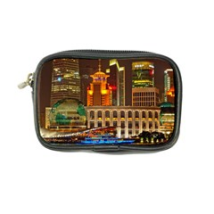 Shanghai Skyline Architecture Coin Purse