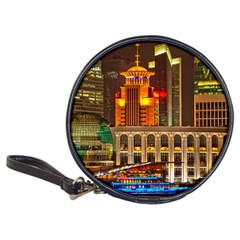 Shanghai Skyline Architecture Classic 20 Cd Wallets by BangZart