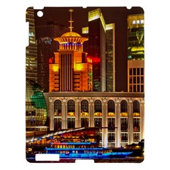 Shanghai Skyline Architecture Apple Ipad 3/4 Hardshell Case by BangZart