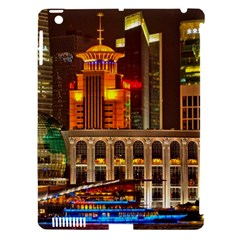 Shanghai Skyline Architecture Apple Ipad 3/4 Hardshell Case (compatible With Smart Cover) by BangZart