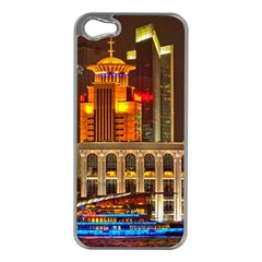 Shanghai Skyline Architecture Apple Iphone 5 Case (silver)