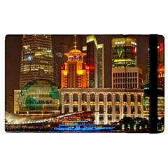 Shanghai Skyline Architecture Apple Ipad 3/4 Flip Case by BangZart