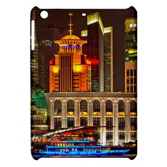 Shanghai Skyline Architecture Apple Ipad Mini Hardshell Case by BangZart