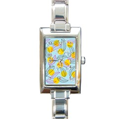 Playful Mood I Rectangle Italian Charm Watch by allgirls