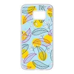 Playful Mood I Samsung Galaxy S7 Edge White Seamless Case by allgirls