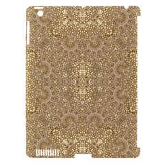 Ornate Golden Baroque Design Apple Ipad 3/4 Hardshell Case (compatible With Smart Cover) by dflcprints