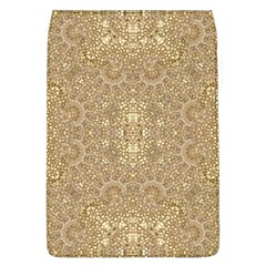 Ornate Golden Baroque Design Flap Covers (l)  by dflcprints