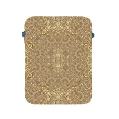 Ornate Golden Baroque Design Apple Ipad 2/3/4 Protective Soft Cases by dflcprints