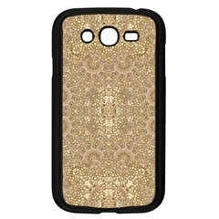 Ornate Golden Baroque Design Samsung Galaxy Grand Duos I9082 Case (black) by dflcprints