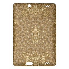 Ornate Golden Baroque Design Amazon Kindle Fire Hd (2013) Hardshell Case by dflcprints