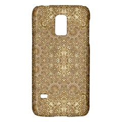 Ornate Golden Baroque Design Galaxy S5 Mini by dflcprints
