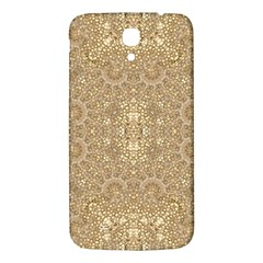 Ornate Golden Baroque Design Samsung Galaxy Mega I9200 Hardshell Back Case by dflcprints