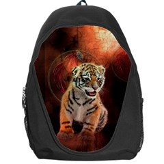 Cute Little Tiger Baby Backpack Bag by FantasyWorld7