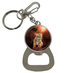 Cute Little Tiger Baby Bottle Opener Key Chains by FantasyWorld7