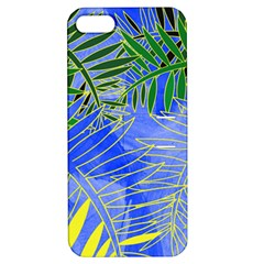 Tropical Palms Apple Iphone 5 Hardshell Case With Stand by allgirls
