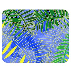 Tropical Palms Double Sided Flano Blanket (medium)  by allgirls