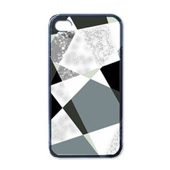 Monogram Marble Mosaic Apple Iphone 4 Case (black) by allgirls