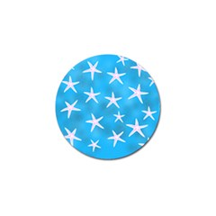 Star Fish Golf Ball Marker by allgirls