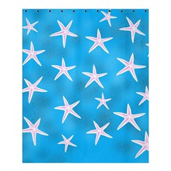 Star Fish Shower Curtain 60  X 72  (medium)  by allgirls
