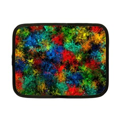 Squiggly Abstract A Netbook Case (small)  by MoreColorsinLife
