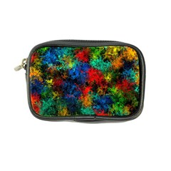 Squiggly Abstract A Coin Purse by MoreColorsinLife