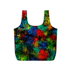 Squiggly Abstract A Full Print Recycle Bags (s)  by MoreColorsinLife