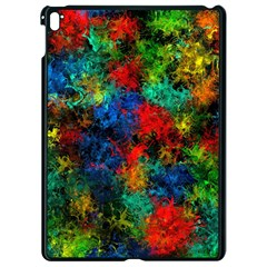 Squiggly Abstract A Apple Ipad Pro 9 7   Black Seamless Case by MoreColorsinLife