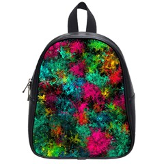 Squiggly Abstract B School Bag (small) by MoreColorsinLife