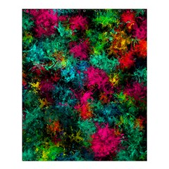 Squiggly Abstract B Shower Curtain 60  X 72  (medium)  by MoreColorsinLife